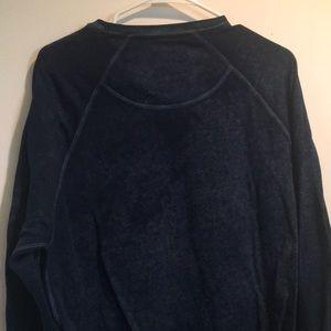 Hybrid Threads Tops - Fuzzy Blue Long Sleeve Top